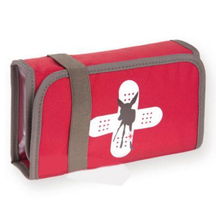 LÄSSIG Ensiapulaukku First Aid Kit, Red Deer