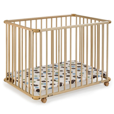 GEUTHER Playpen Belami natural 73x102cm (2231) 007 Dots