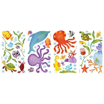 ROOMMATES Wandsticker - Unterwasserwelt