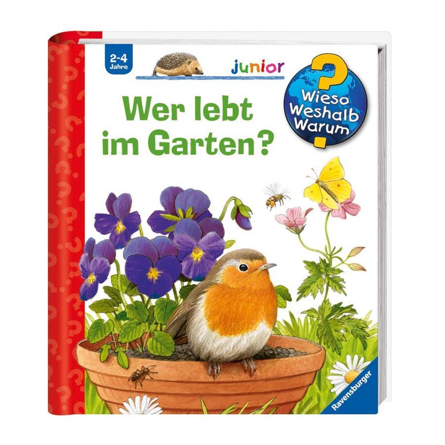 RAVENSBURGER Wieso? Weshalb? Warum? Junior 49: Wer lebt im Garten?