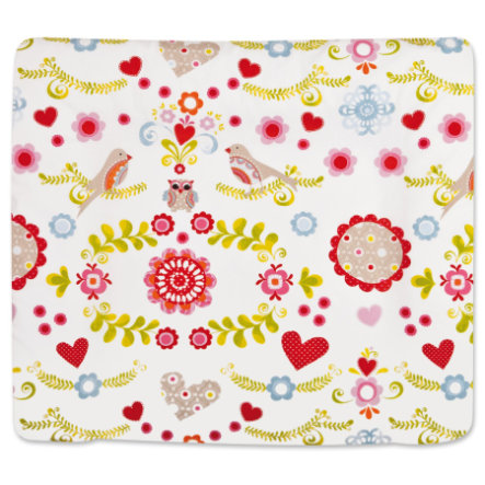 MY JULIUS Change Mat Softy with Fabric Cover Bloom (1360-0) 75x85cm