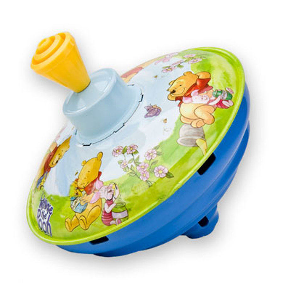 BOLZ 13 cm Musical Top Winnie the Pooh