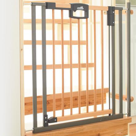 GEUTHER Barrière de sécurité pour escalier Easy Lock Wood 84,5-92,5 cm (2793)
