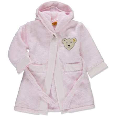 Steiff Girls Bademantel barely pink