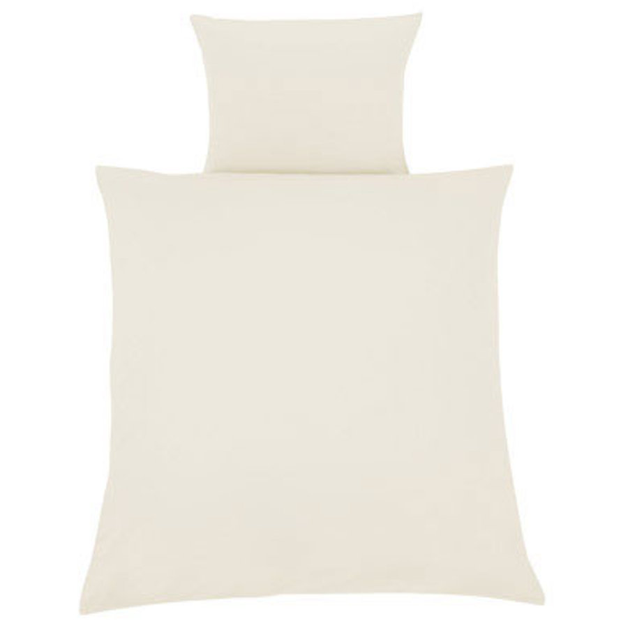 ZÖLLNER Bed Linens 80 x 80 cm Solid Ecru (4020-0)