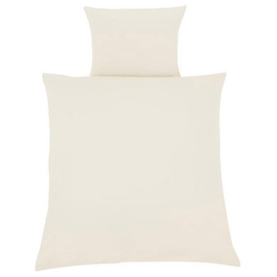 ZÖLLNER Sängkläder 80 x 80 cm uni ecru (4020-0)
