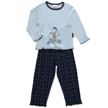 MOONLINE Girls Mini Pyjama LOTTA lichtblauw