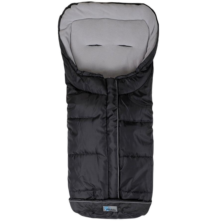 ALTA BÉBE Coprigambe invernale Standard con ABS (2203XL) nero/grigio chiaro- Black Fede