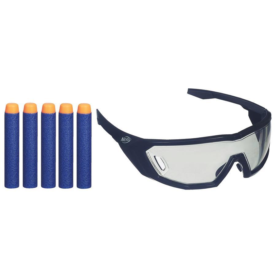 HASBRO Accesoires pour Nerf N-Strike Elite - lunettes de tireur et 5 fléchettes