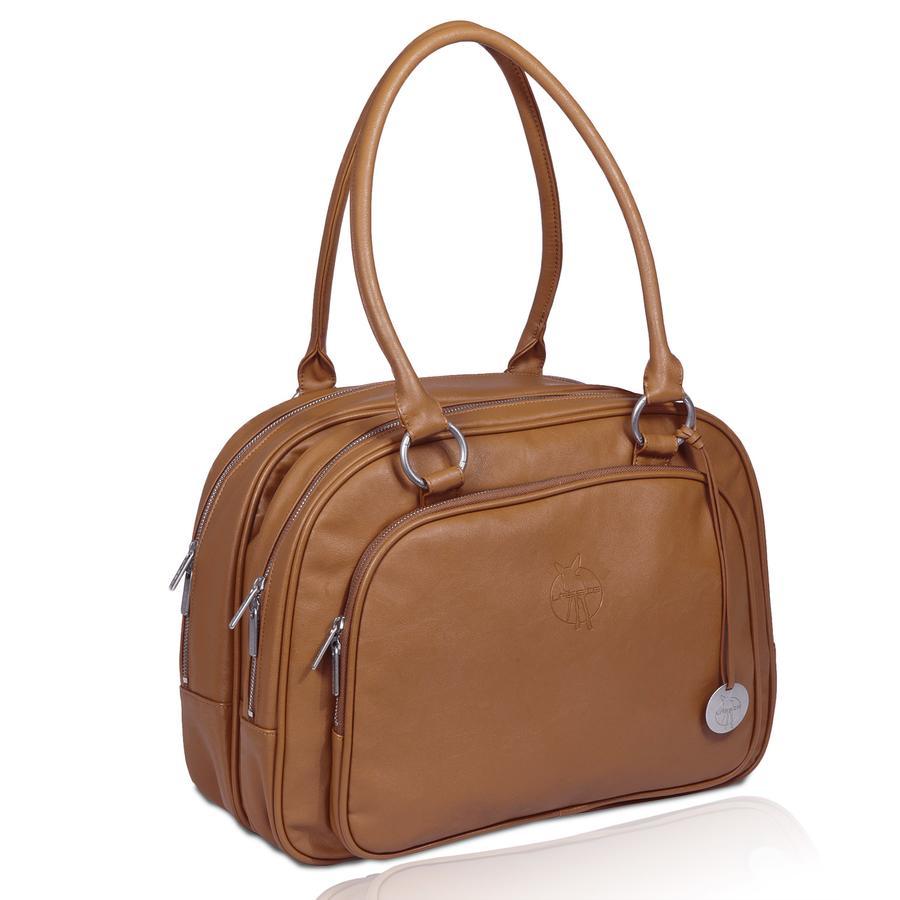 LÄSSIG Luiertas Tender Multizip Bag Tender Cognac