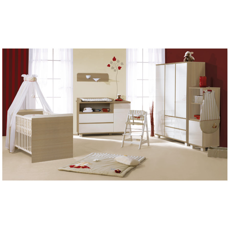 roba kinderzimmer genova schmal 3 t rig. Black Bedroom Furniture Sets. Home Design Ideas