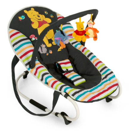 HAUCK Wippe Bungee Deluxe Disney Pooh Tidy Time