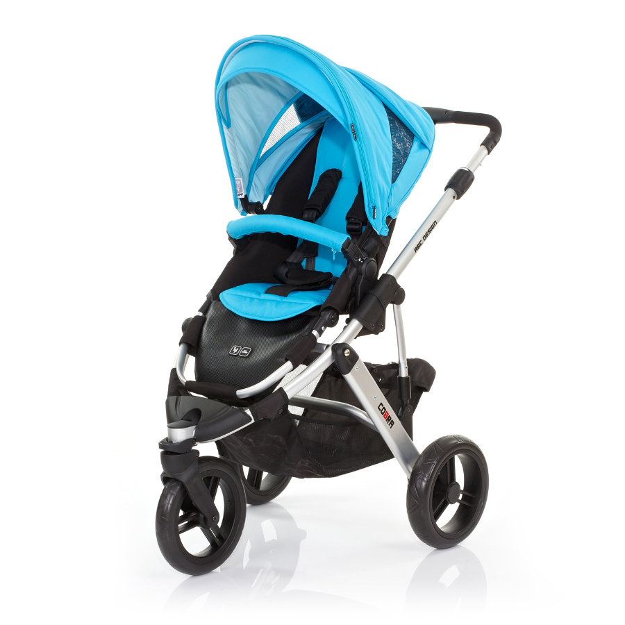 ABC DESIGN Kinderwagen Cobra rio Gestell silver / black