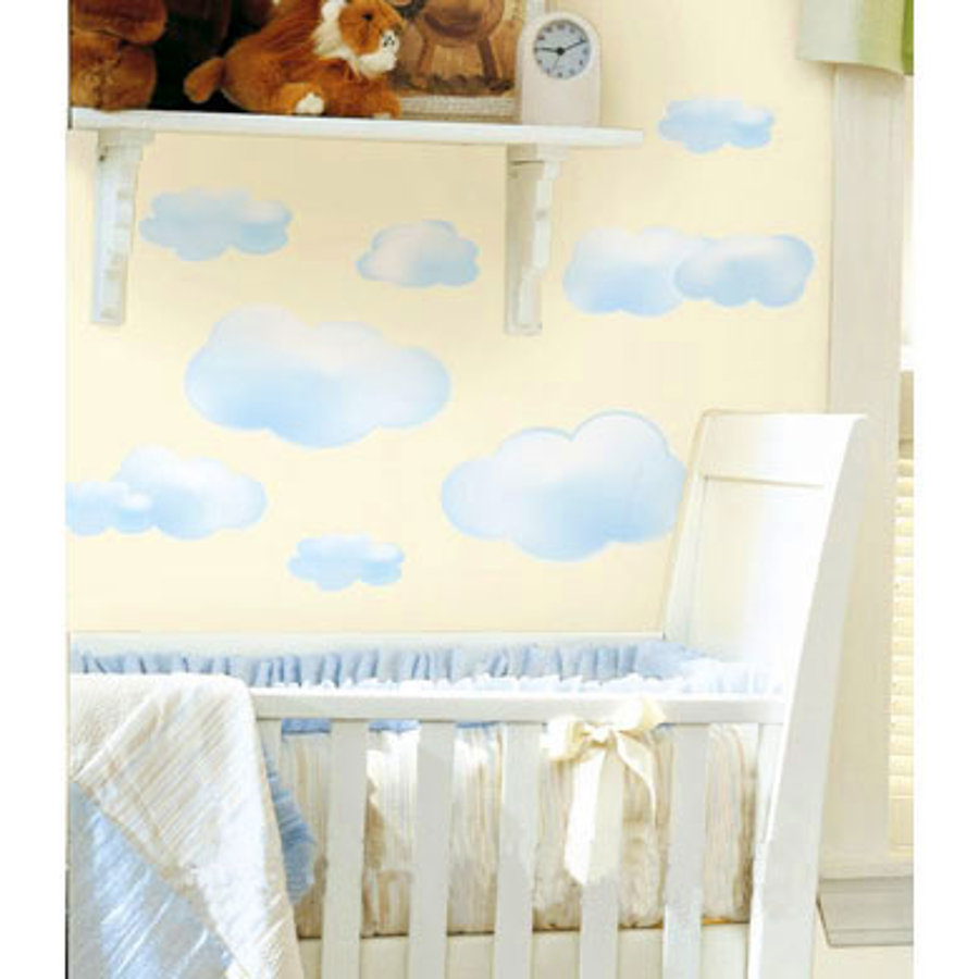 ROOMMATES Wall Stickers Clouds