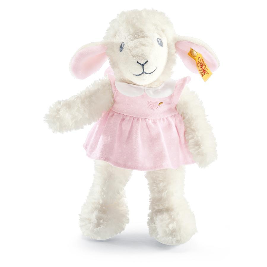STEIFF Sladká ovečke, růžová  28cm