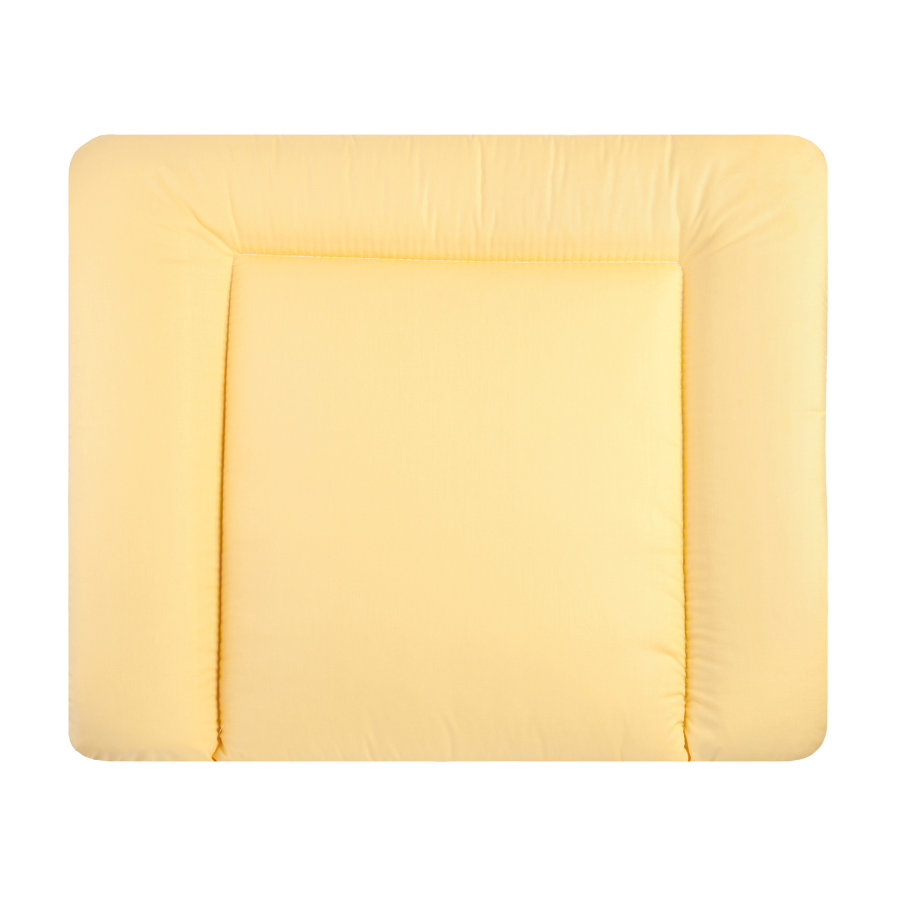 JULIUS ZÖLLNER Aankleedkussen - Softy stoff uni geel