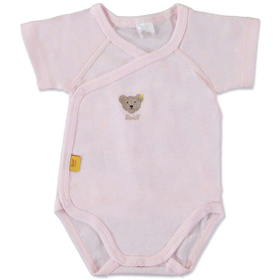 STEIFF Girls Baby Body kopertowe barely pink