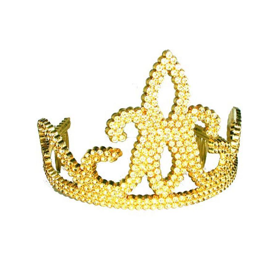 FUNNY FASHION Golden Tiara