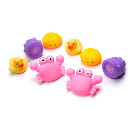 PLAYGRO Zabawki do kąpieli kolor różowy