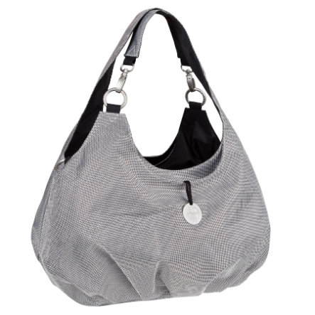 LÄSSIG Goldlabel Luiertas Shoulder Bag Design Metallic silver