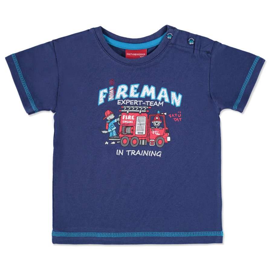 SALT AND PEPPER Boys Mini T-Shirt CARS classic blue
