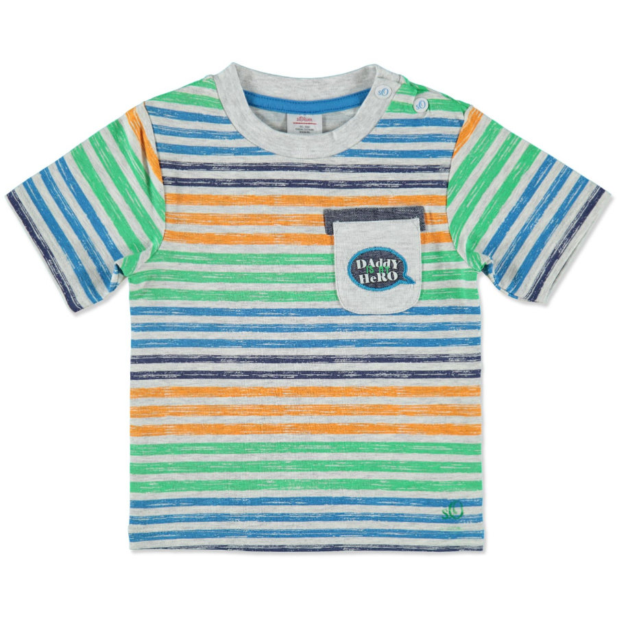 s.OLIVER Boys Mini Tričko white stripes