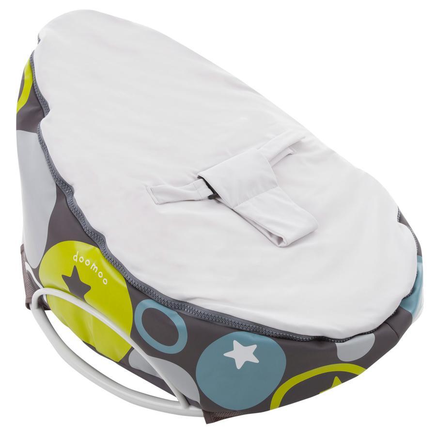 Doomoo Sitzsack Seat Original mit Swing Wippe Farbe Stones Grau