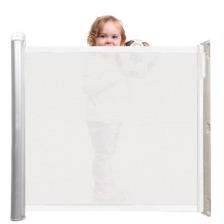 LASCAL Kiddy Guard Accent Barrière de porte blanc