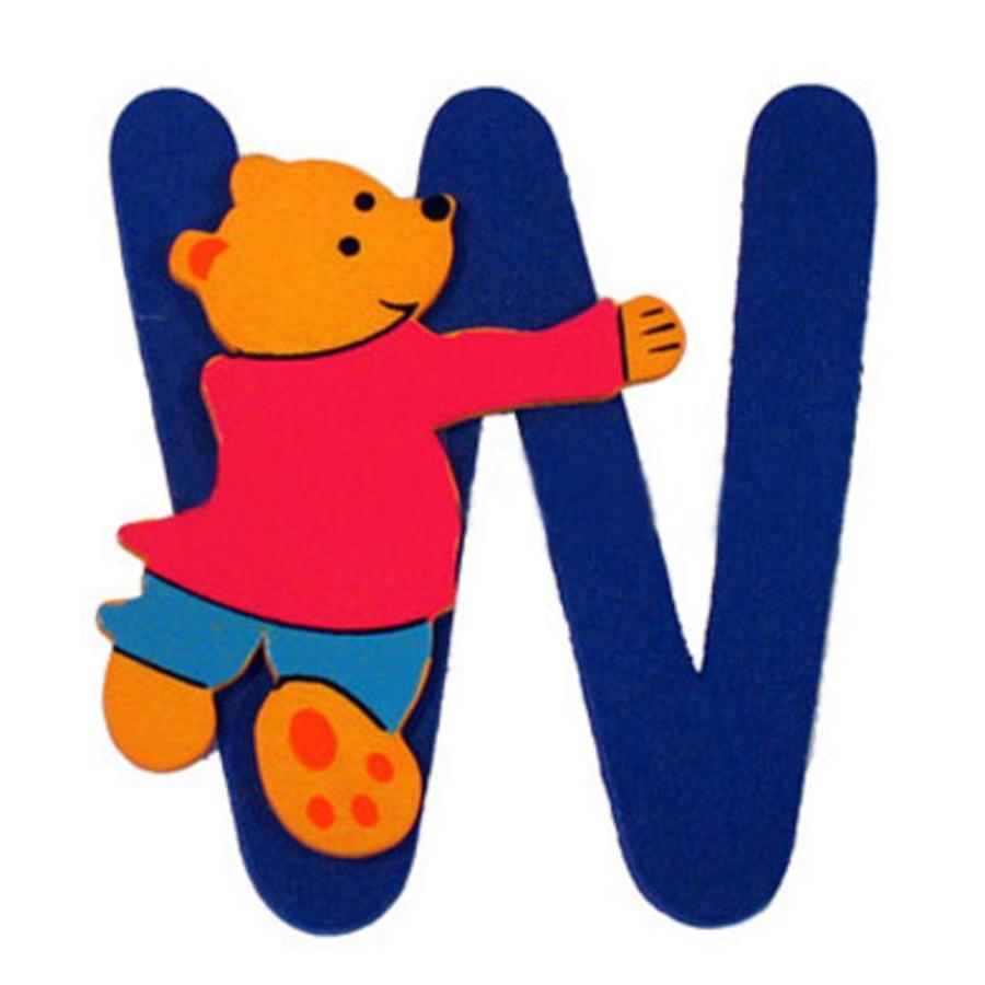 """BIECO Medvědí písmenko """"W"""""""