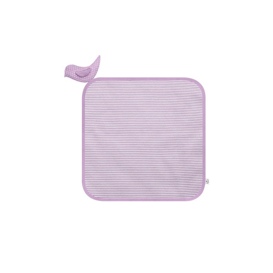 BELLYBUTTON Kuscheltuch white/rose striped