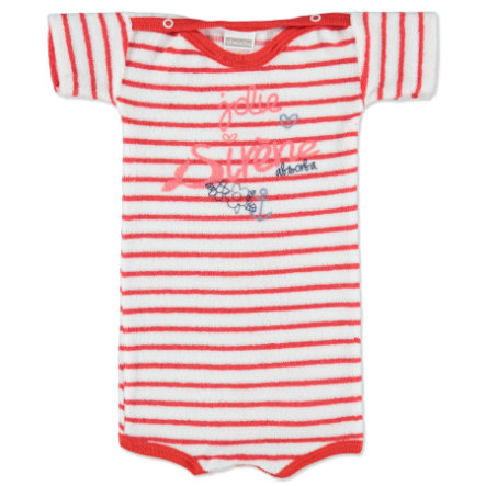 ABSORBA Girls Baby Frottee Body 1/4 Arm rot
