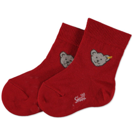 STEIFF Mini Socks Teddy lred