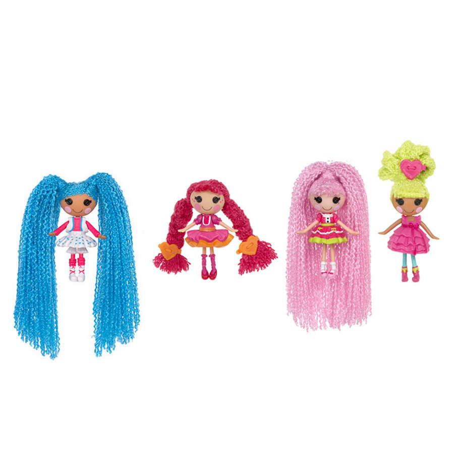LALALOOPSY Mini Loopy Hair Doll Lalka Miniaturka