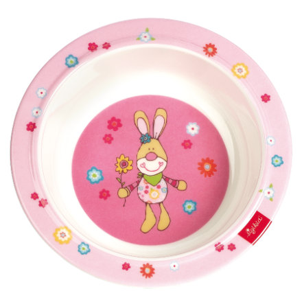 SIGIKID syvä lautanen, melamiini - Bunge Bunny