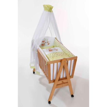 Easy Baby Wiegenset Fox - green