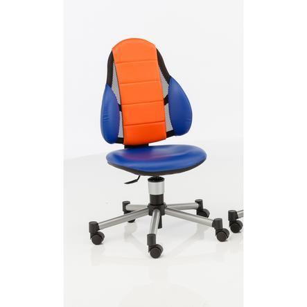 KETTLER Chaise de bureau BERRI FREE, Bleu/Orange 6726-018