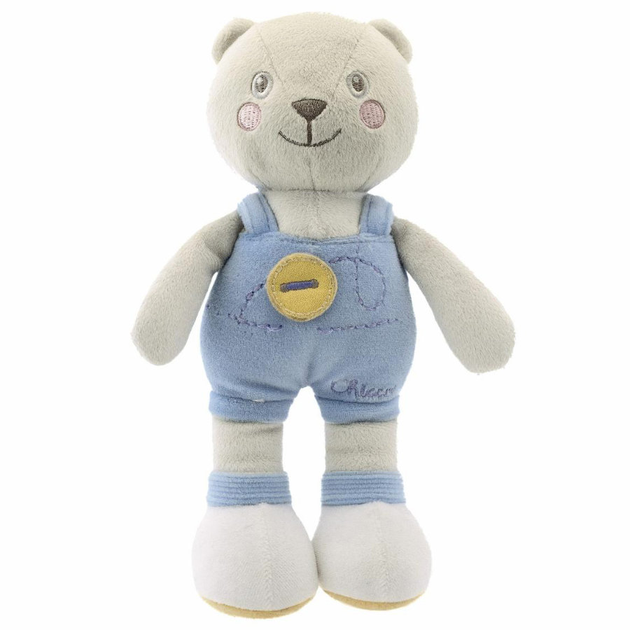 CHICCO Soft Color Lapin Peluche Bleu
