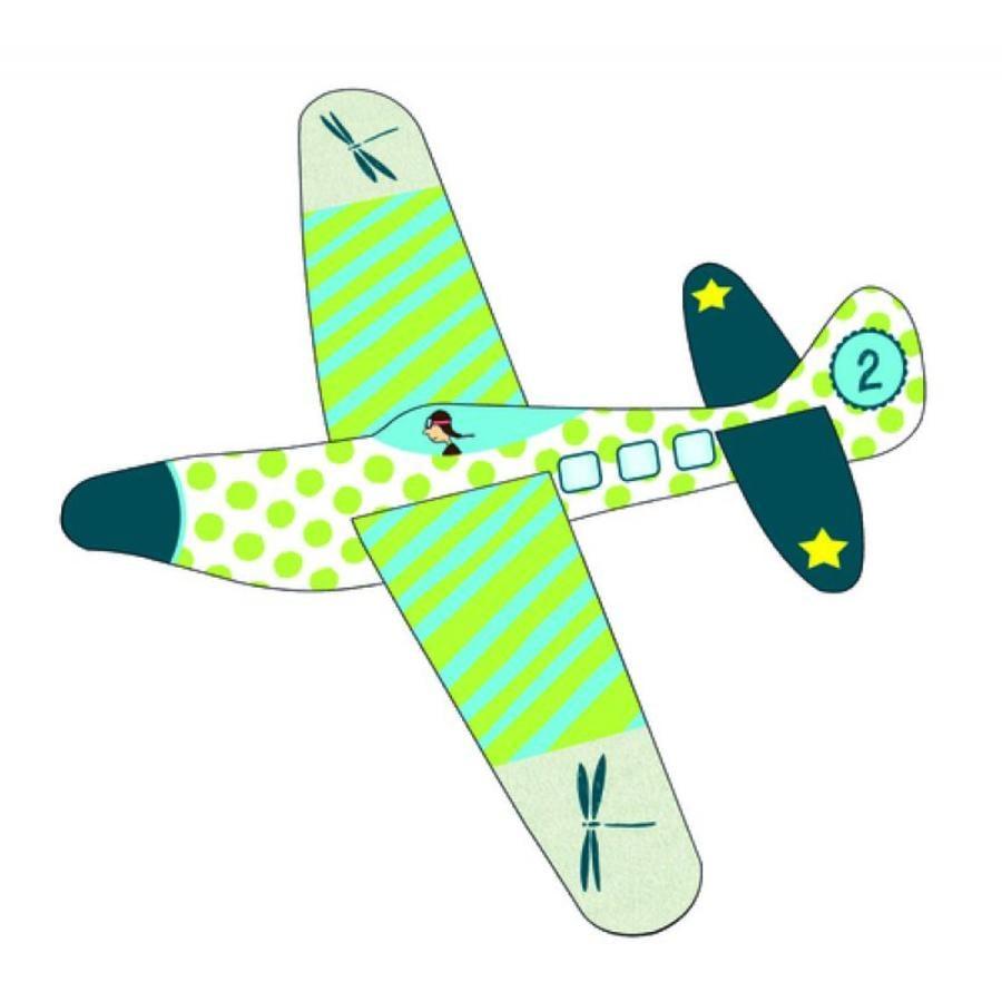 COPPENRATH Färgglatt flygplan