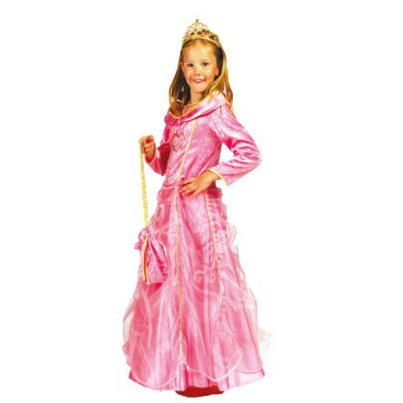 FUNNY FASHION Karneval Kostüm Prinzessin Bella Rosa