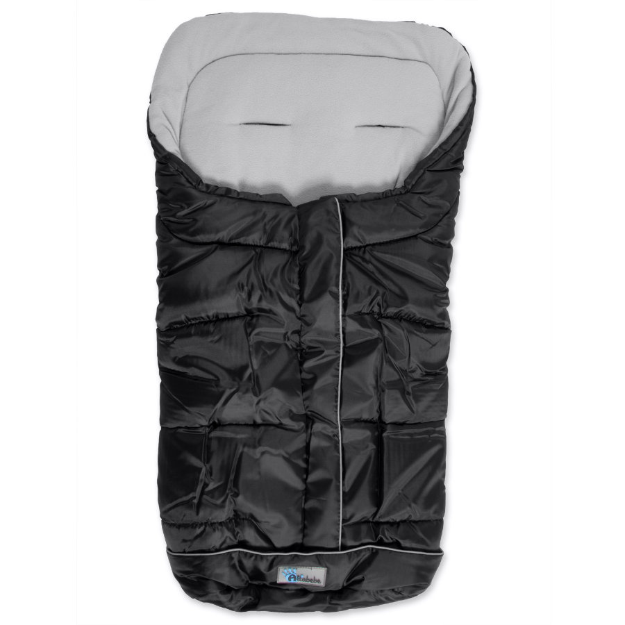 ALTA BEBE zimní fusak standart s ABS  (2203) Black Fede