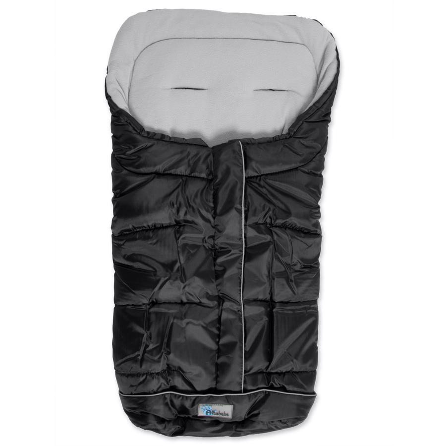 ALTABEBE Śpiworek zimowy Active do wózka, kolor czarny/jasnoszary