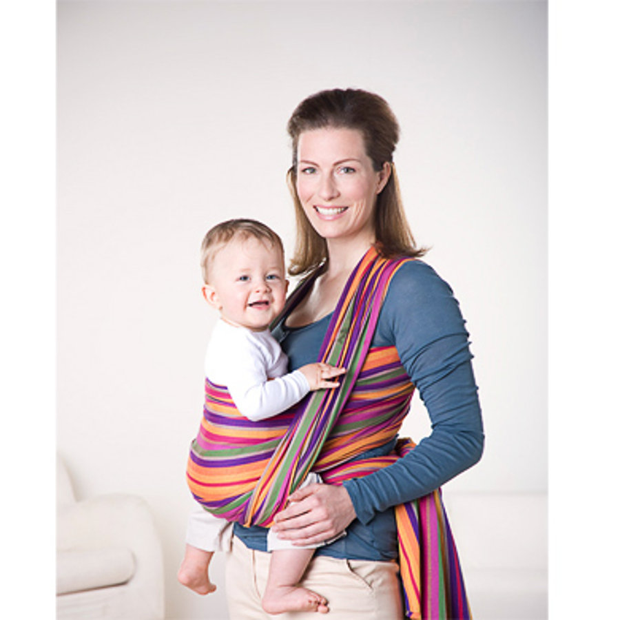 AMAZONAS Fascia Porta bebé Carry Sling LOLLIPOP 510 cm