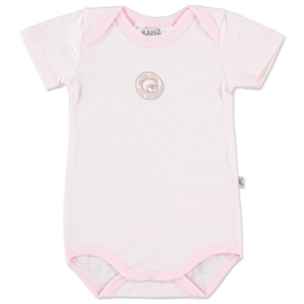 KANZ Girls Baby Body 1/1 Arm ballerina rosé