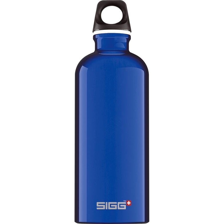 SIGG Trinkflasche 0,6l Design Traveller Dark Blue