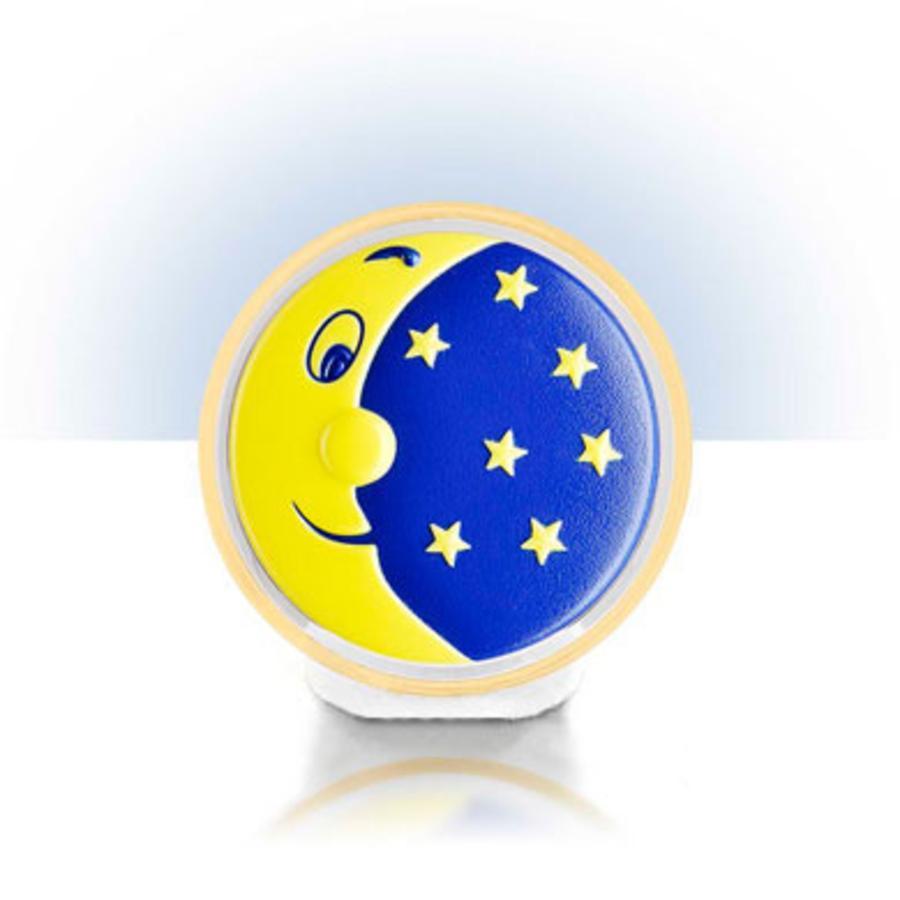 Noční světlo na baterie REER měsíček s hvězdičkami (5253)