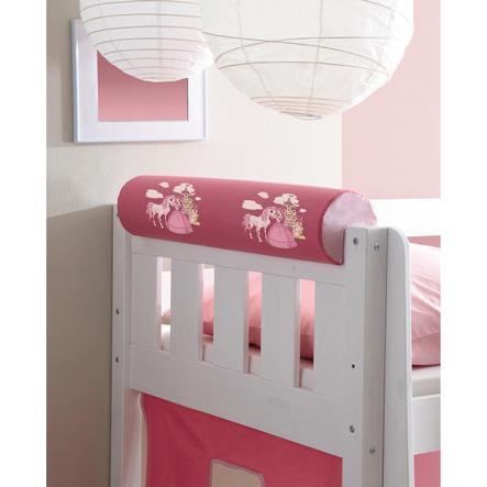 ticaa rouleau t te de lit horse rose vif. Black Bedroom Furniture Sets. Home Design Ideas