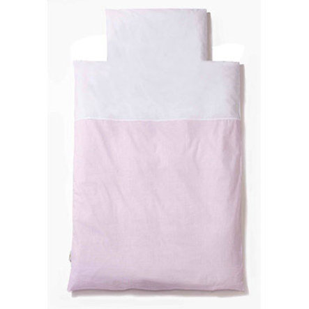 Easy Baby Beddengoed 80x80cm Vichy rose (415-51)