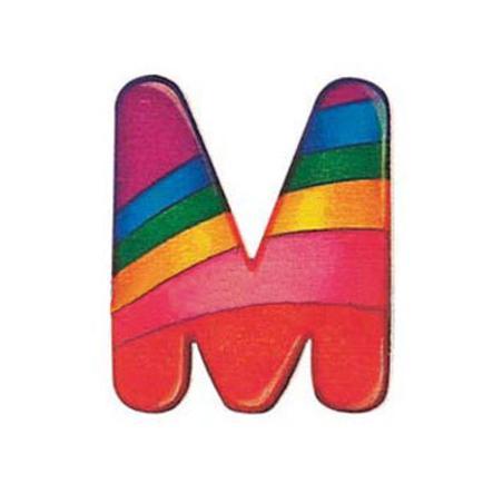 SELECTA dřevěné písmenko M