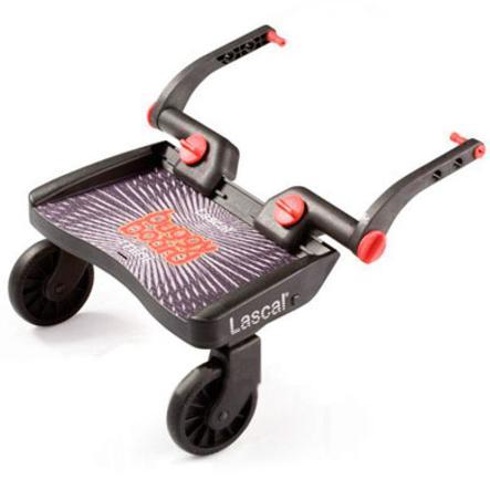 Buggy Board Mini (Basic) von Lascal schwarz