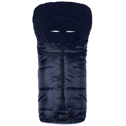 ALTA BÉBE Winter Voetenzak Basic Footmuff (2202) marine / marine - Deep blue uni, Collection 2013/14